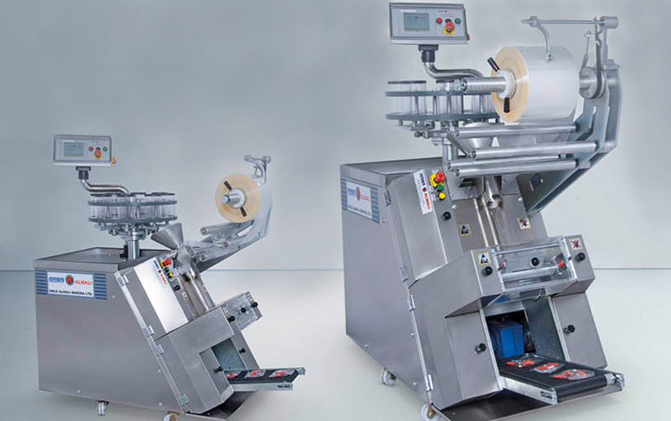 ALM-2040  SEMI AUTOMATIC 60 DEGREE ASLOPE PACKAGING MACHINE
