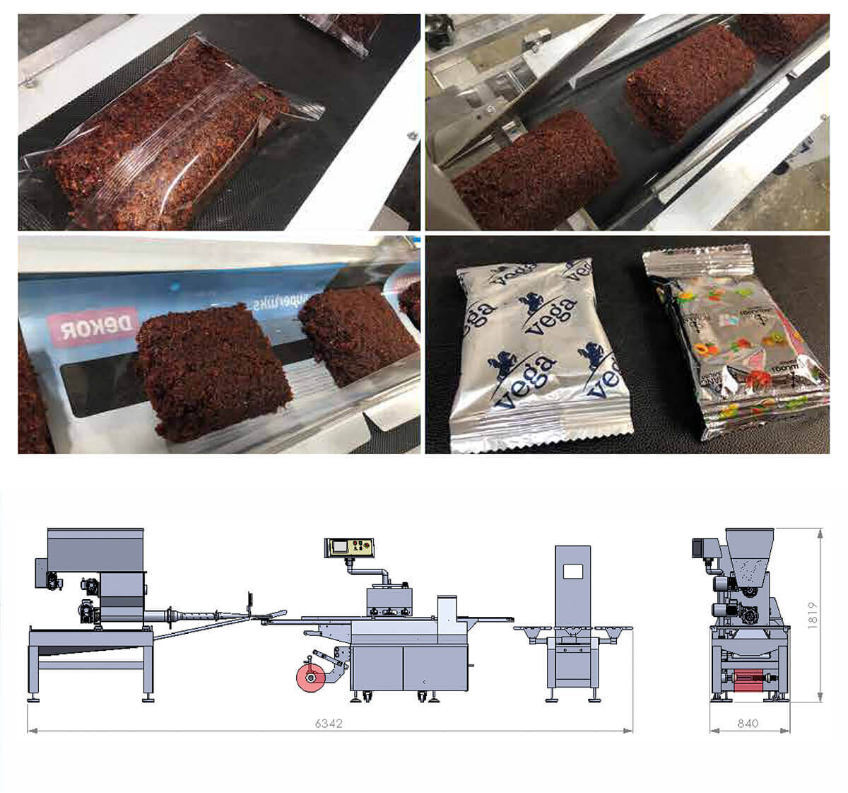 Fully Automatic Molasses Pouch Dosing & Packing Line
