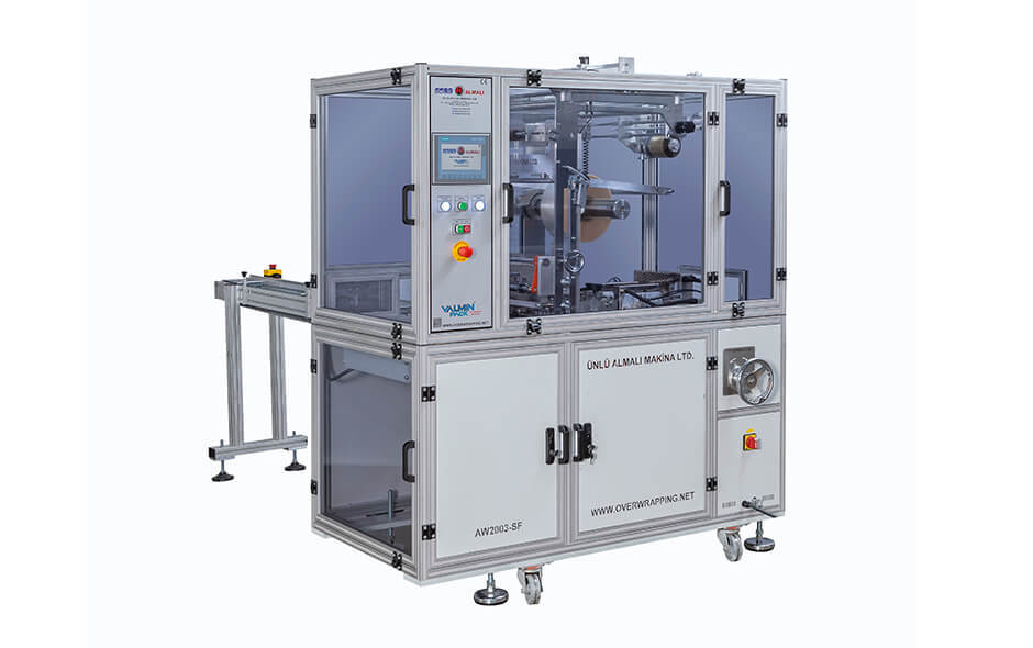 AW2003-SF CARTON BOX OVER-WRAPPING MACHINE