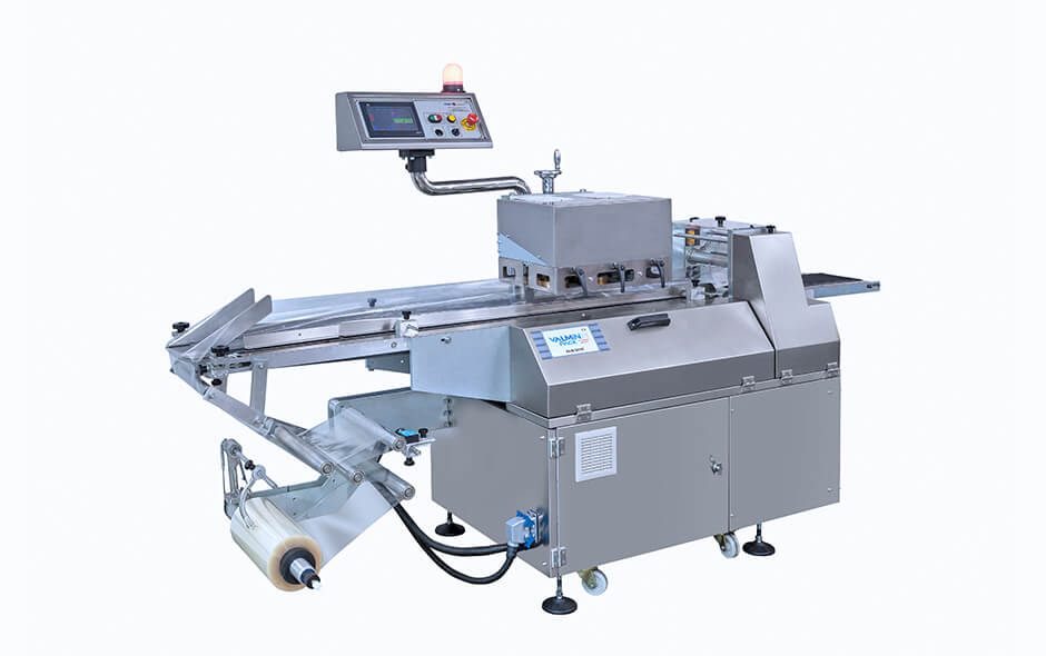 ALM-2010-IN FULLY AUTOMATIC INVERSE TYPE FLOW-WRAP PACKAGING MACHINE